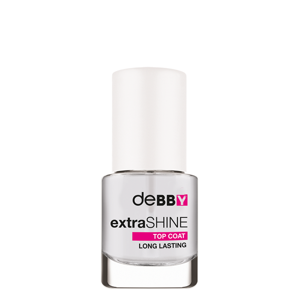 <p><strong>extra</strong>SHINE <strong>TOP COAT</strong> <strong>LONG LASTING</strong></p>