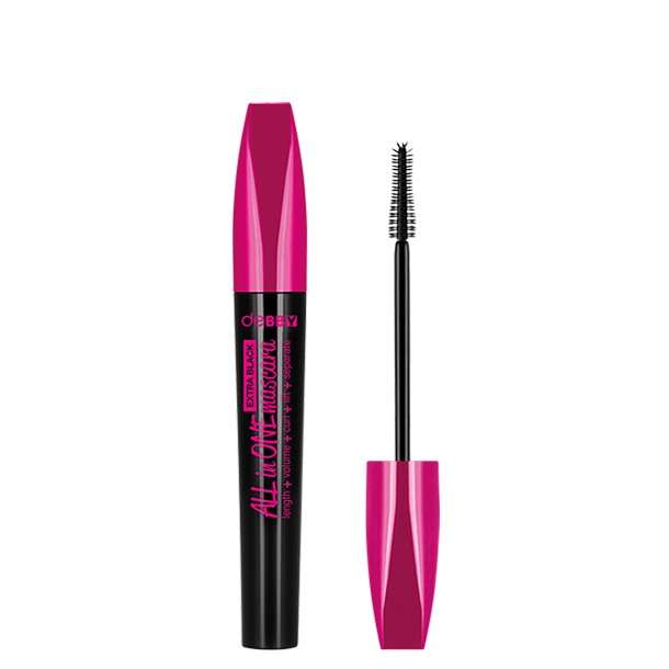 <p><strong>ALL in ONE EXTRA BLACK</strong> Mascara</p>