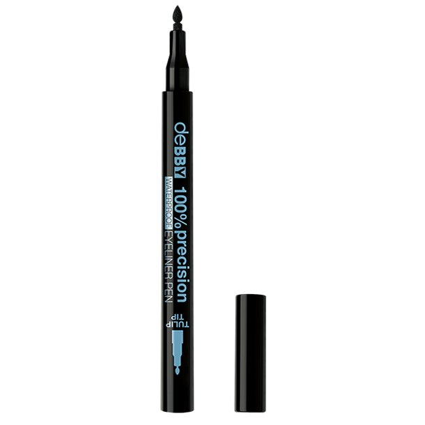 <p><strong>100%precision</strong> <strong>WATERPROOF </strong>EYELINER PEN</p>