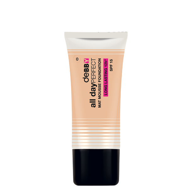 <p><strong>all day</strong>PERFECT<br /> MAT MOUSSE FOUNDATION</p>